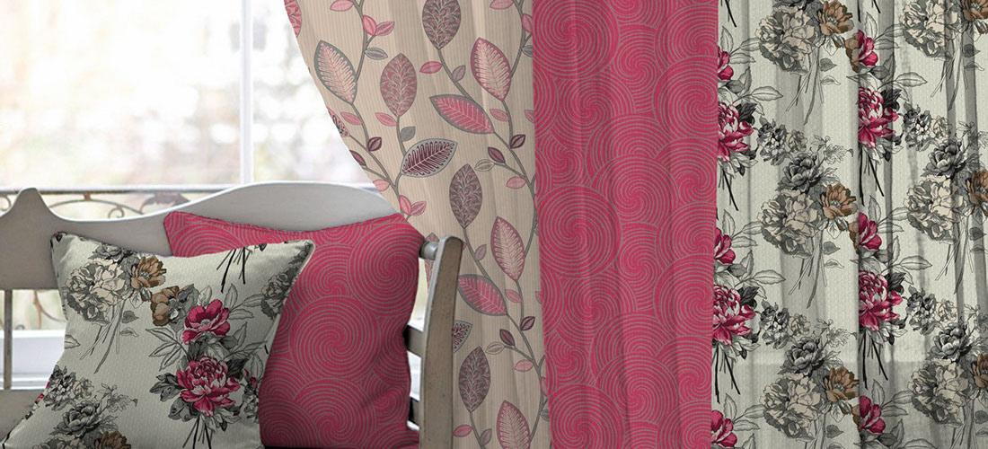 SLOBYT slider textil, závesy